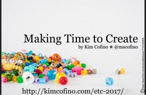 MakingTimetoCreate